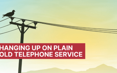 Phasing out Plain Old Telephone Service (POTS)